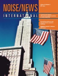 Volume 19, Number 2, June, 2011 - Noise News International