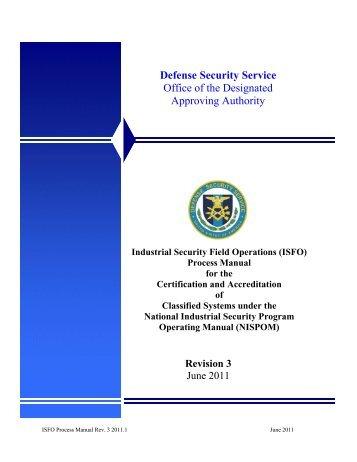 Best PDF National Industrial Security Program Operating Manual ...