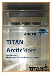 ArcticStoreXXL Models - Used Storage Containers