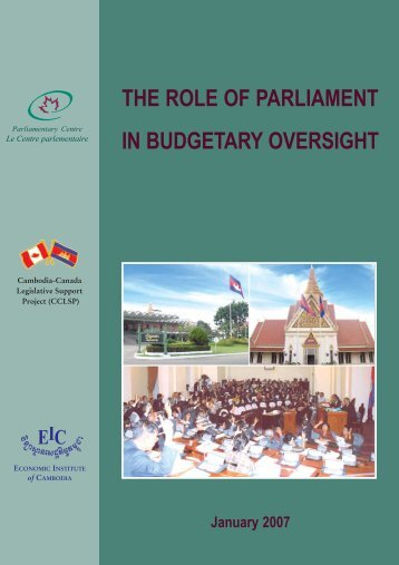 Download PDF - Parliamentary Centre