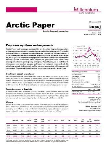 Arctic Paper - Bankier.pl