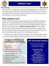 Kaitlyn's Law