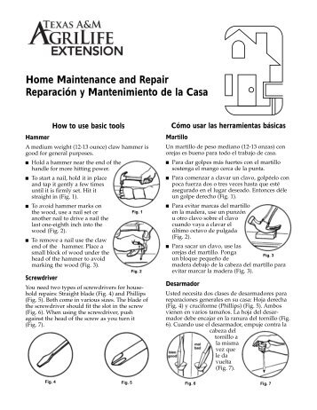 Home Maintenance and Repair: How to use basic tools