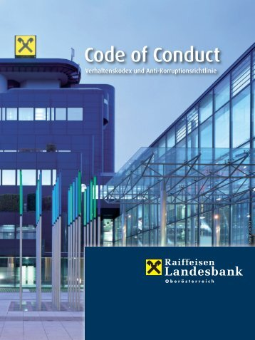 Code of Conduct - Stand Juni 2013 (pdf, 2,2 MB)