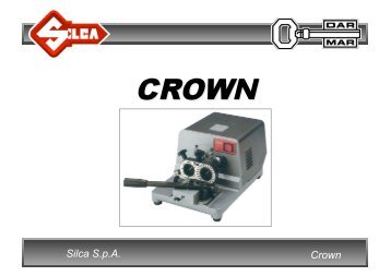 Silca S.p.A. Crown - Dar-Mar