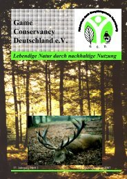 Game Conservancy Deutschland e.V.