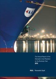 Hanseatic Lloyd Annual Report 2010 - bei Hanseatic Lloyd