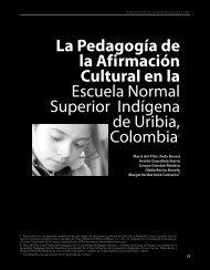 La Pedagogía de la Afirmación Cultural en la ... - Revista Docencia