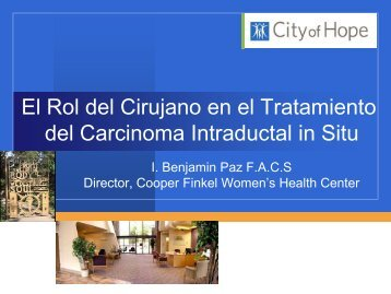 enfoque quirúrgico del carcinoma ductal in situ