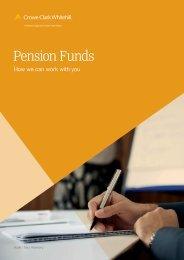 Pension Funds brochure - Crowe Horwath International