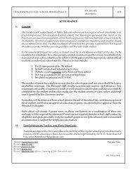 Attendance Policy - Henderson County Public Schools