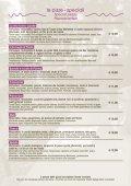 menu completo - HOTEL ANTICHI CORTILI - Page 5