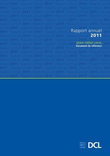 Rapport annuel 2011 - Paper Audit & Conseil
