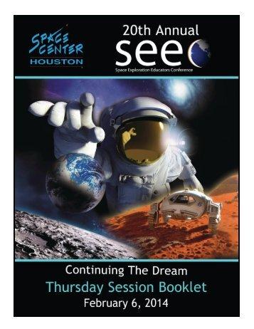 Thursday, February 6th - Space Center Houston