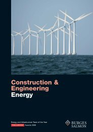 Construction and Engineering Energy brochure 01 ... - Burges Salmon