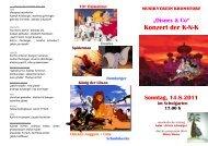 Konzert der K-N-K - Linz-Land