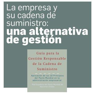 Guia de proveedores _Red del Pacto Mundial España - Instituto ...
