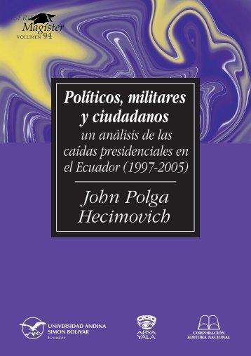 SM94-Polga-Políticos, militares.pdf - Repositorio UASB-Digital