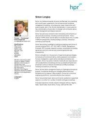 Simon Longley - The Dispute Board Federation