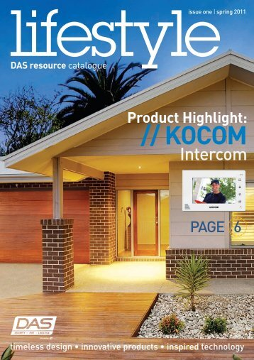 DAS Lifestyle Catalogue - Issue 1 - The Technoworx Store