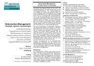 Dokumenten-Management: - PM Doc~Flow