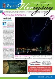 PDF dokumentum (6503 KByte) - Gyulai Hírlap