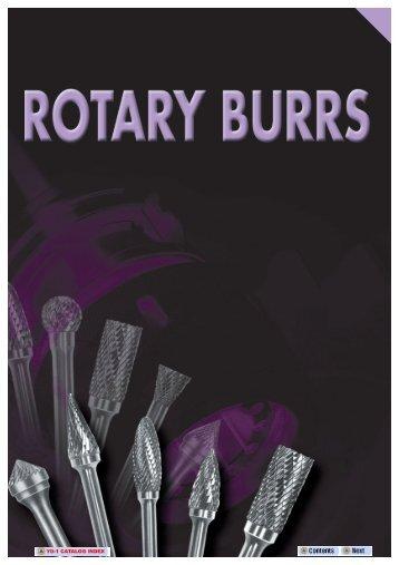 rotary burrs