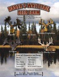 Part 3 - Whitetail Deer Farmer