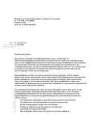 Wet Natuur zienswijze - Milieufederatie Limburg