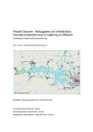 Projekt Slussen - Bebyggelse och infrastruktur ... - Structor