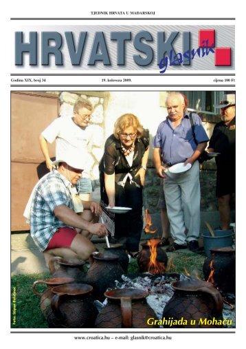 34. broj 20. kolovoza 2009.