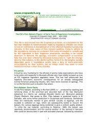 The Peru Balsam Regulatory Fiasco - Cropwatch