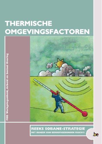 FOD Waso, Brochure Thermische omgevingsfactoren