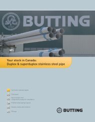 Your stock in Canada: Duplex & superduplex stainless steel pipe