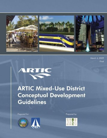 ARTIC Mixed-Use District Conceptual ... - City of Anaheim