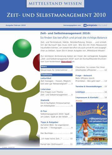 Zeitmanagement - Unternehmer.de