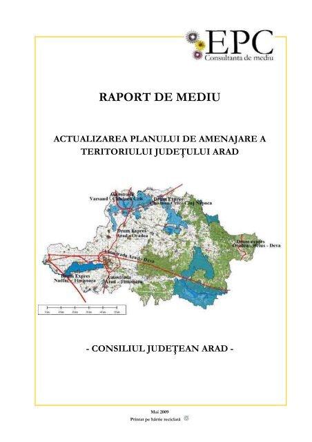Raport De Mediu Consiliul Judetean Arad