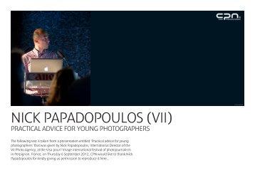 NICK PAPADOPOULOS (VII) - Canon Professional Network