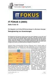 Die Integration von Online-CICS-Anwendungen in e ... - CC GmbH