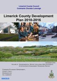 04. Volume 4. Environmental Report - Library/Limerick Studies