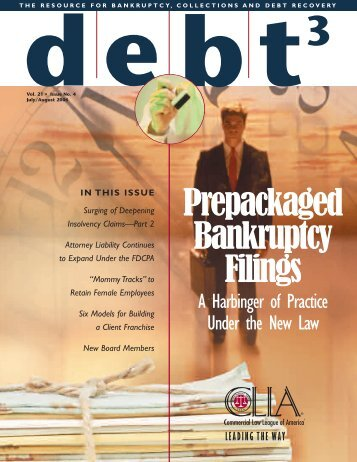 39068_ CLLA DEBT3 - Commercial Law League Of America
