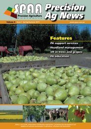Spring/Summer 2011 Volume 8 Issue 1 - SPAA
