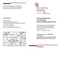 Aktuelle Diagnostik und Therapie beim Schilddrüsenkarzinom