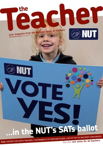 ...in the NUT's SATs ballot - National Union of Teachers