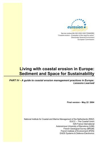 coastal erosion management of the kapiti Download a pdf of managing coastal erosion by the national research council for free can it prompt more responsible management of coastal areas.