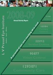Community Care 1 293 071 - LV Prasad Eye Institute
