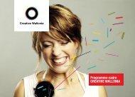 Téléchargez le programme cadre - Creative Wallonia