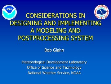 Considerations in designing and implementing a mesoscale ...