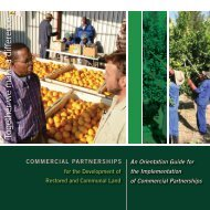 Commercial Partnerships for the Development of ... - Business Trust
