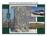 23 south neighborhoods plan - Golden Urban Renewal Authority